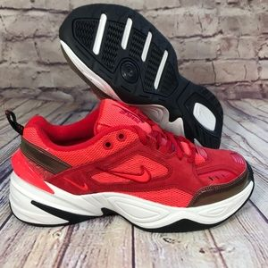 NIKE M2K TEKNO university red. Womens size 8